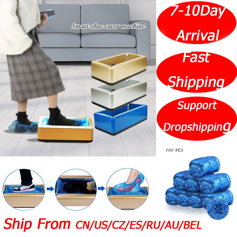 Automatic Shoes Cover Dispenser Household Disposable Booties Maker Dustproof Machine Shoe Cover For Home Office