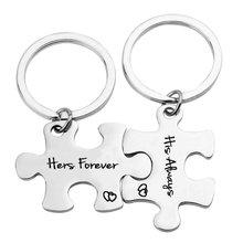 Комплект из 2 предметов на День святого Валентина семейный ключ