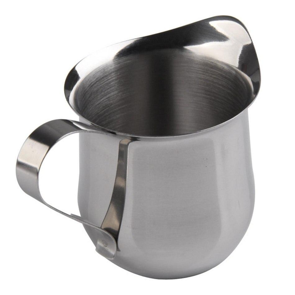 Cafetière Espresso Latte Pot En Acier Inoxydable Lait Crème tasse pichet 90//150//240ml