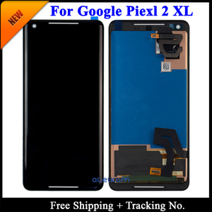 Image 2 - 100% getest Super AMOLED Voor HTC Google Pixel 2 XL LCD Voor HTC Google Pixel Scherm LCD Touch Digitizer montage