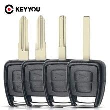 KEYYOU, 2 кнопки для Vauxhall, Opel, Омега, Вектра, Фронтера, Astra, Zafira, чехол для автомобильного ключа, Сменный Чехол, брелок для дистанционного ключа