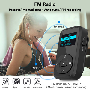 Image 4 - Deelife Bộ Thể Thao Có Bluetooth Mp3 Máy Nghe Nhạc Và TWS Thật Tai Nghe Không Dây Bluetooth Cho Chạy Bộ Với FM Ghi