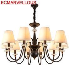 Chambre Fille Lampara Colgante Verlichting Hanglamp European Crystal Hanging Lamp Lampen Modern Luminaria Loft Pendant Light