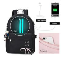 Large School Bags for Teenage Girls Usb Anti Theft Backpack Women Book Bag Big High School Bag Youth Leisure College
