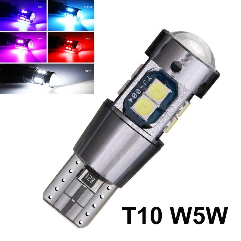 1 шт. Canbus T10 W5W 3030SMD 10 светодиодный купольный светильник для чтения салона автомобиля, без ошибок, 168 194 светодиодный парковочный фонарь на танк...