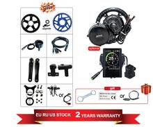 48V750w Bafang nouvelle conception BBS02B mi Kits de moteur dentraînement à manivelle coloré Lcd affichage motoréducteur Kit électrique vélo Ebike Kits