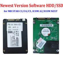 Новейшее полное Программное обеспечение HDD/SSD для MB STAR C3/C4/C5 ICOM A2/NEXT V2019.12 работает D630 CF19 X200t большинство ноутбуков Активация