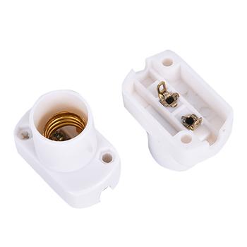 1 szt Kwadratowy uchwyt lampy do E17 E14 żarówki led Test starzenia podświetlana podstawa tanie i dobre opinie CN (pochodzenie)