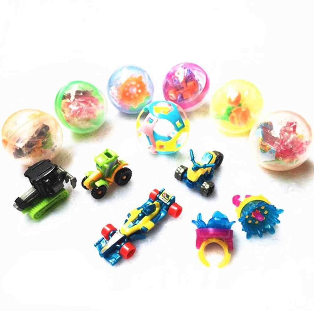 Baru Mini Kejutan Telur Kejutan Bola Kreatif Mainan Gashapon Mainan Anak Gadget Anak-anak Kejutan Pesta