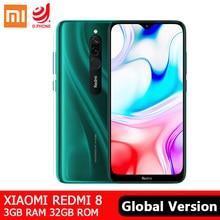 "Globale Version Xiaomi Redmi 8 3GB 32GB Smartphone Snapdragon 439 Octa Core 12MP Dual Kamera 5000mAh Batterie 6.22 ""Handy"