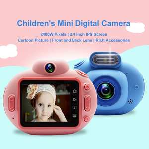 Children Kids Digital Camera 2.0 inch IPS high-definition large screen Support HD Video Record Self Timer Soft Color  0927