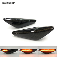 Smoked LED Sequential Dynamic Side Turn Signal Indicator for BMW X3 F25 X5 E70 X6 E71 ActiveHybrid X6 E72