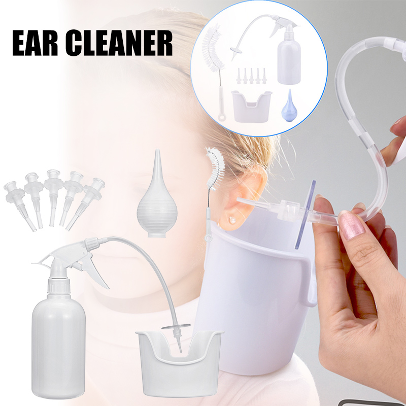 Ear Wax Remover Kit Soft Removal Cleaner Tool Cleaning With 5 Replacement Tips ZG88