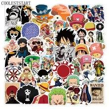10/50 Pçs/set Japão Anime One Piece Adesivos Para Moto Bicicleta Skate Laptop Guitarra Telefone Não Repetir Mangá Pegatinas