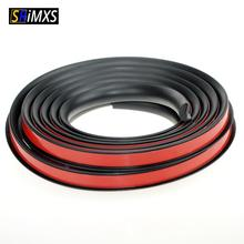 Soft Car Fender Flares Extension Wheel Eyebrow Protector Lip Wheel arch Trim Wheel Eyebrow Decorative Strip Car Tires Eyebr 18mm