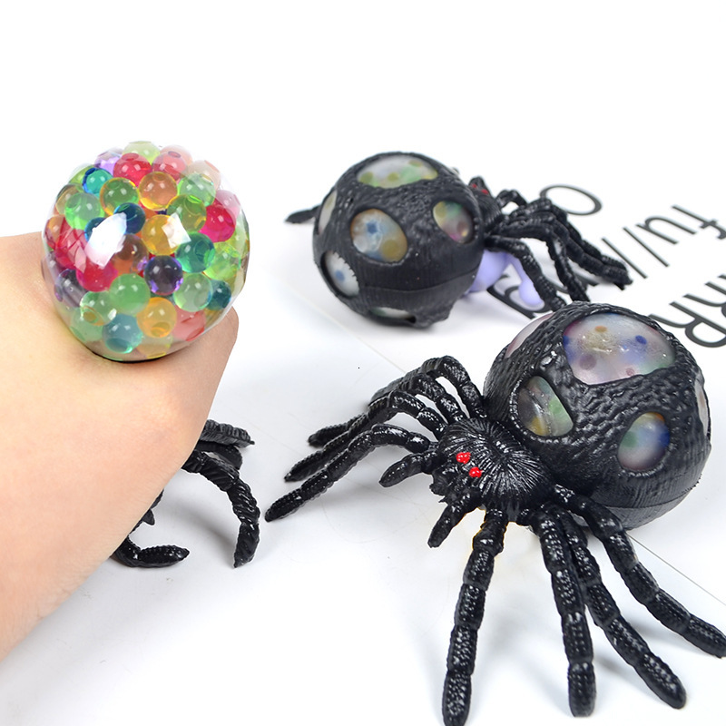 Adult Pinch Music Spider Venting Mood Toy Extrusion Bubble Ball Vent Ball Decompression Toy April Fool's Day Funny Gifts