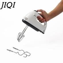 JIQI 7 скоростей ручной автоматический Электрический миксер для пищевых продуктов, взбиватель для взбивания яиц, блендер для взбивания крема, мешалка для теста, инструмент для выпечки торта