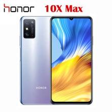 Novo oficial honra original x10 max 5g smartphone mtk6873 7.09 Polegada 1080x2280p 48.0mp câmera traseira 5000mah super carregador nfc