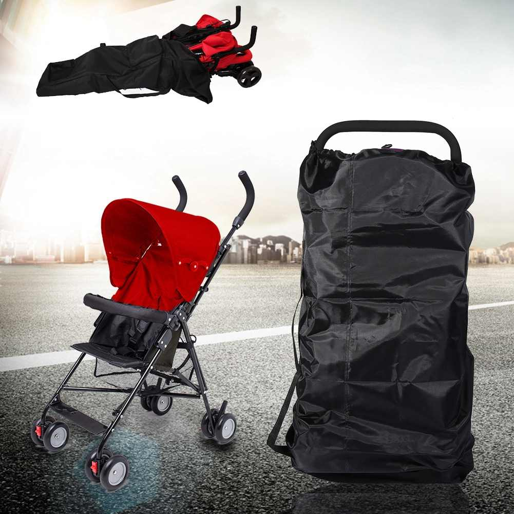 Bayi Bayi Anak Gate Check Payung Double Stroller Kereta Dorong Perjalanan Tas Kereta Bayi Buggy Penutup Dropshipping
