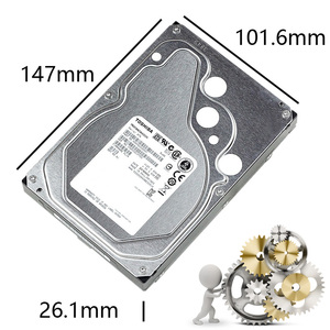"Image 4 - TOSHIBA 4TB Enterprise Class ฮาร์ดดิสก์ไดรฟ์ HDD HD ภายใน SATA III 6 กิกะไบต์/วินาที 7200RPM 128M 3.5 ""Harddisk ฮาร์ดไดรฟ์ 24/7 24X7 Gamin"
