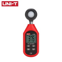 UNI-T UT383 Digital Luxmeter LCD Display Light Meter Luminance Tester Handheld Luminometer Photometer Environmental Testing
