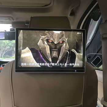 2019 Wholesales 16:9 Cinema-level Car Entertainment Screen for Volkswagen 12.5 inch Car Headrest Android 7.1.2 OS