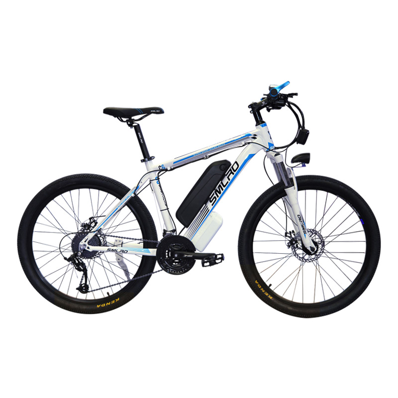 26'' Electric Mountain Bike Removable Large Capacity Lithium-Ion Battery 48V 250W/500W 21 Speed Gear and Three Working Modes
