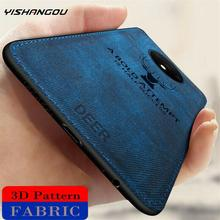 YISHANGOU Cloth Fabric Deer Phone Case For One Plus 7T Pro S