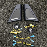 Auto hochtöner abdeckung für BMW F10 F11 auto lautsprecher decor schutzhülle horn schutz shell front tür lautsprecher abdeckung trim