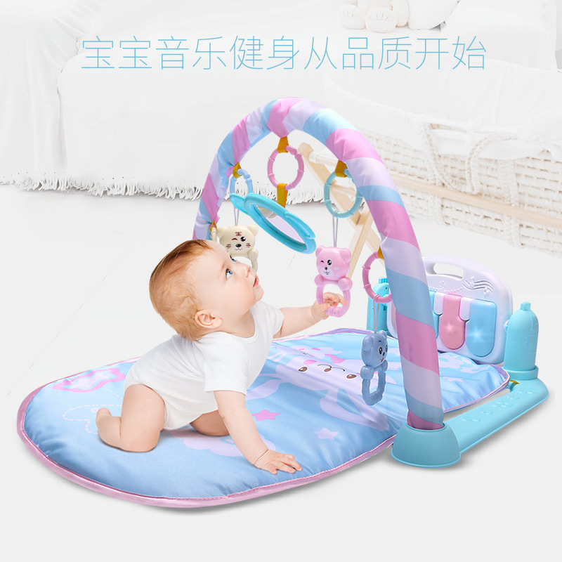 Baby Early Childhood Toy Infant Foot Piano Fitness Rack Crawling Blanket Primary Baby Toys Gift 0-12 Month