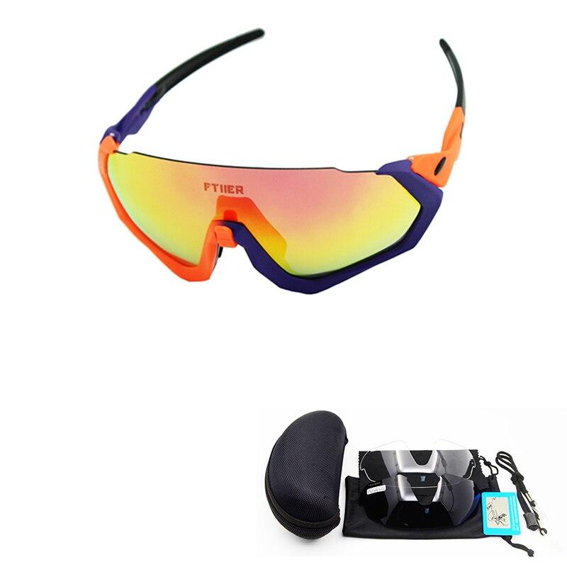 Gafas de sol de bicicleta polarizadas lentes múltiples de nueva marca gafas de sol para conducir gafas de sol deportes al aire libre