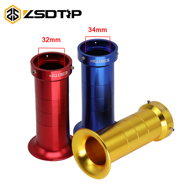ZSDTRP New 32mm 34mm Long Air Filter Cup Wind Horn Cup for 43mm PZ30 CG200 Motorcycle Carburetor image