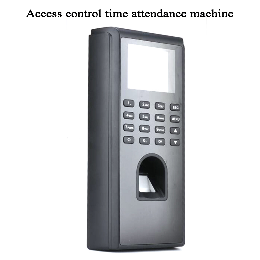 Fingerprint Code ID Card Employee Time Attendance Acess Control DC 12V USB U-disk TCP/IP Tamper Alarm Door/Gate Opener