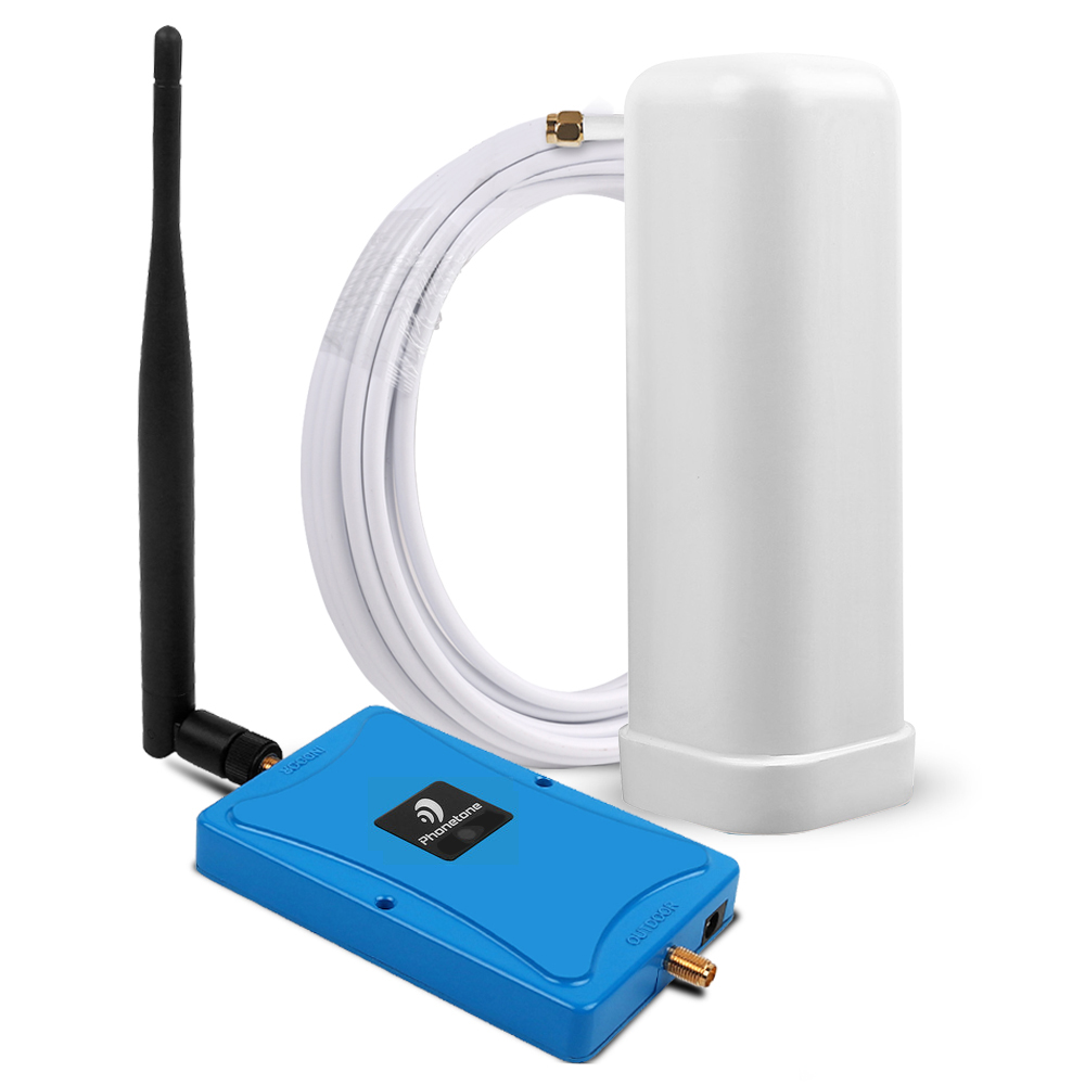 GSM 900MHz Cellular Signal Repeater 2G Mobile Phone Signal Booster Gsm Amplifier 2g Reperidor 70dBi Repeater With 2 Antennas Kit
