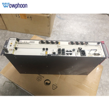 Free shipping Huawei 19 inch mini MA5608T GPON OLT + 1*MCUD + 1*MPWD + 1*GPBD 8 Port B+ C+ C++, 1G, AC Terminal de linha optica