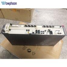 Kostenloser versand Huawei 19 zoll mini MA5608T GPON OLT + 1 * MCUD + 1 * MPWD + 1 * GPBD 8 Port B + C + C + +, 1G, AC Terminal de linha optica