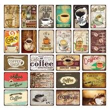 Кофе брейк Досуг металлический постер Ретро оловянные знаки
