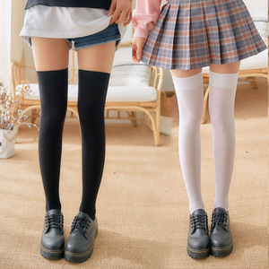 anime stockings kawaii women girl jk uniform Tight High Over Knee stockings adult Non-slip velvet over the knee socking