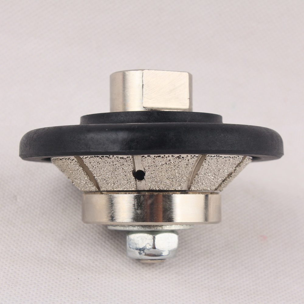 Vacuum Brazed Hand Profiler Wheel Bevel 5-20 mm Diamond Profile Grinding Wheel For Angle Grinder On Granite Marble Stone