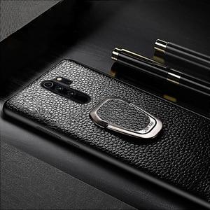 Image 2 - Leather Phone Case For Xiaomi Mi 10 9 se 9T A3 Lite POCO X2 F1 F2 Mix 2s Max 3 Litchi For Redmi Note 9 9S 8 7 7A 6 K30 Pro Cover