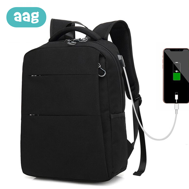 AAG Mummy Bag Waterproof Daddy Backpack USB Charge Maternity Nappy Diaper Bags Zipper Travel Wash 30