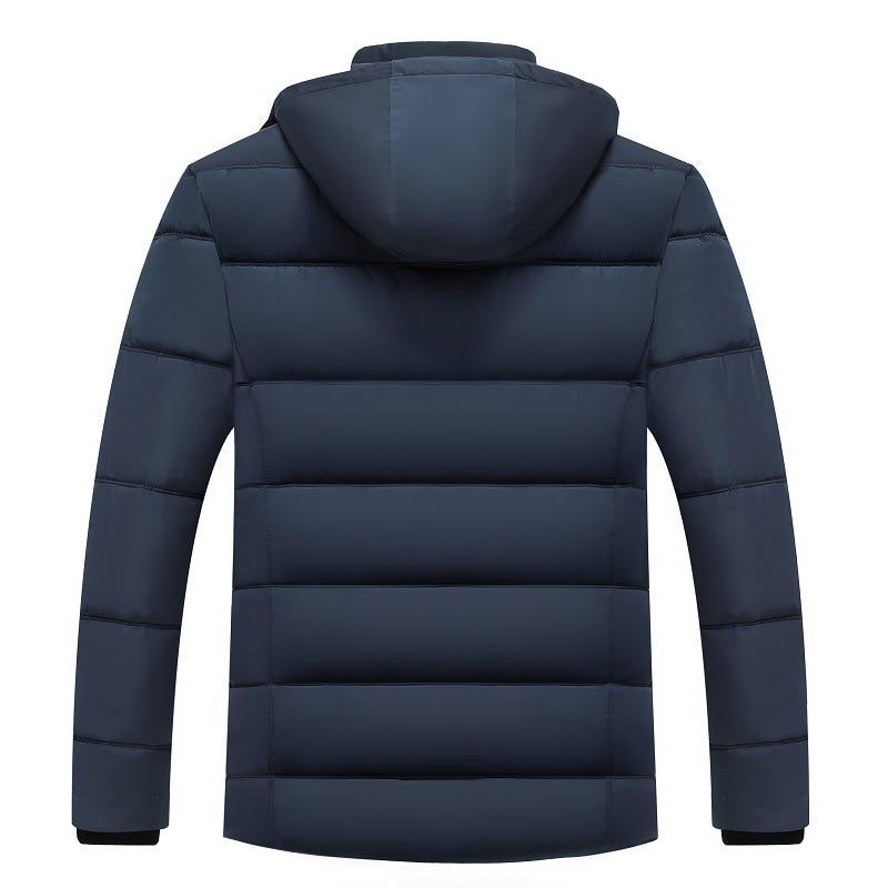 Image 3 - FAVOCENT Winter Jacket Men Thicken Warm Men Parkas Hooded Coat  Fleece Mans Jackets Outwear Windproof Parka Jaqueta MasculinaParkas
