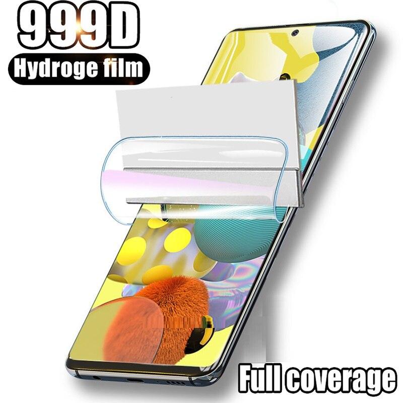 999D гидрогель пленка для 10 20 30 40 50 60 70, 80, 90, Защитная пленка для экрана для Samsung Galaxy A10 A20 A30 A40 A50 A60 A70 A80 A90>