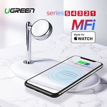 Ugreen MFi Wireless Charging Stand for Apple Watch Charger 5/4/3/2/1 Series Original Magnetic Wirelss Charger Stand Fast Charger