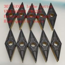 30°SANDV high quality lathe tool VNMG160404 PM4225 carbide tool, external turning CNC R0.4 finishing