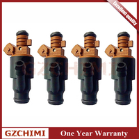 0280150501 4pcs Fuel Injector Nozzle 13641247196 for BMW M44 M42 1.8 1.9 Z3 E36 318i 318is 318ti Car Auto