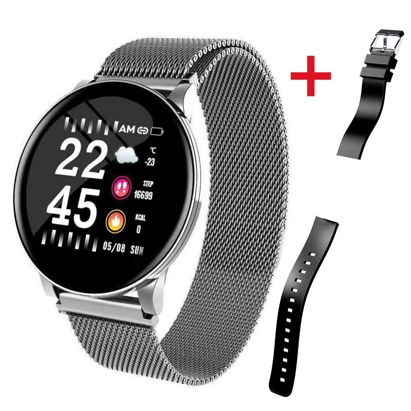 2019 Hot Smart Watch Heart Rate Blood Pressure Smart Watch Men Bluetooth Bracelet Smartwatch Women for Apple IOS Android Phone