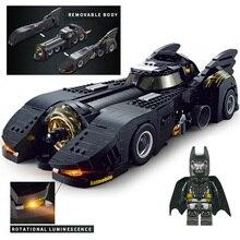 1778 piezas DC Super hero es película Batman Batmobile modelo bloques de construcción legoings Marvel Mini superhéroe figuras Juguetes para los niños