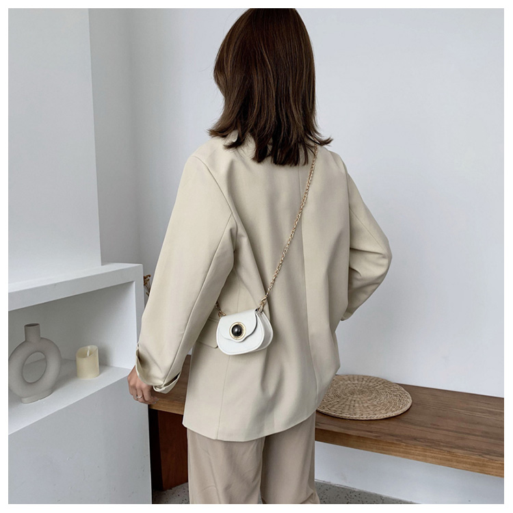 Mini Fashion Pu Soild Color Saddle Bags For Women Small Bag Leather Handbags And Lady Shoulder Bags Cross Body Bag (9)