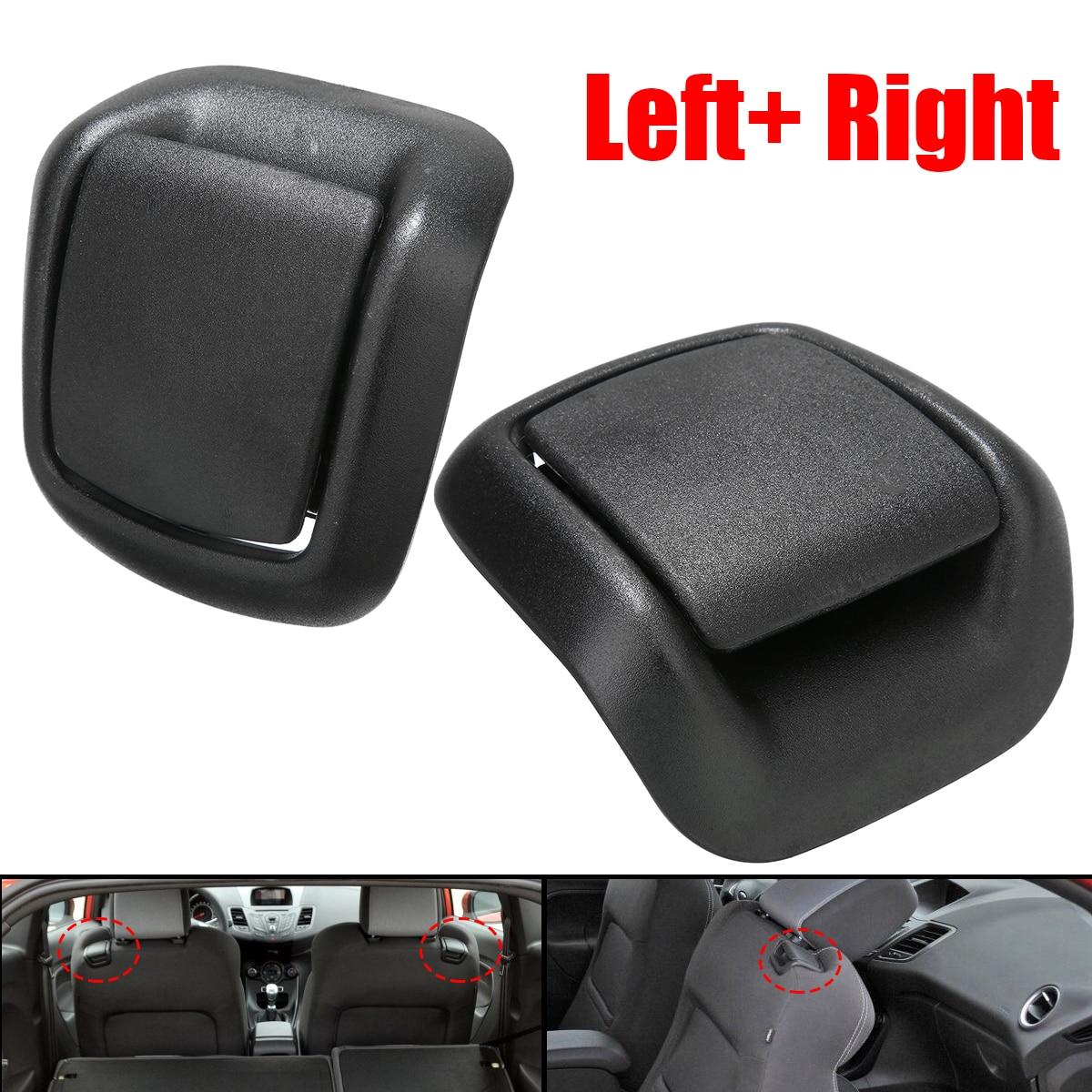 TREYUES 1Pair Front Seat Tilt Handles Auto Interior Parts Plastic For Ford Fiesta MK6 2002-2008 1417520 1417521